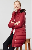 Picture of Joules Jacket Hartwell Coat Red Wine