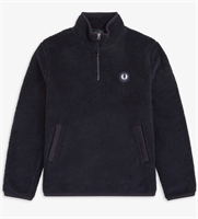 Picture of Fred Perry Borg Fleece Half-Zip Navy