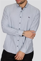 Picture of Bewley & Ritch Shirt Won White/Navy