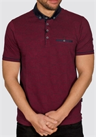 Picture of Bewley & Ritch Polo Shirt Astro Burgundy
