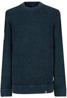 Picture of Pretty Green Knitwear Rib Detail Navy