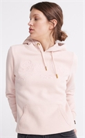 Picture of Superdry Ladies Hoody Vintage Logo Outline Peach Whip