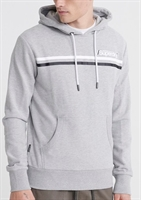 Picture of Superdry Hoody Core Logo Sport Stripe Grey Marl