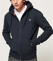 Picture of Superdry Hoody Collective Zip Rich Navy