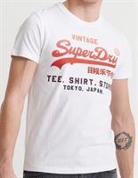Picture of Superdry T-Shirt Vintage Logo Fade Optic