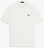 Picture of Fred Perry Polo Shirt Button Down Snow White