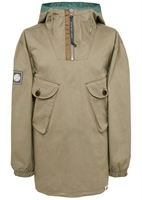 Picture of Pretty Green Jacket Two Pocket Cotton Overhead Khaki