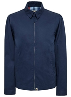 Picture of Pretty Green Jacket Zip Up Harrington Navy