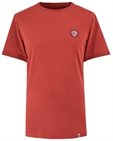 Picture of Pretty Green T-Shirt Likeminded Chest Badge Red