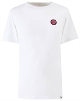 Picture of Pretty Green T-Shirt Likeminded Chest Badge White