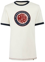 Picture of Pretty Green T-Shirt Likeminded Print White