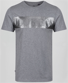 Picture of Luke 1977 T-Shirt Danny Griffiths Mid Mrl Grey