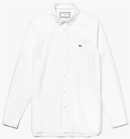 Picture of Lacoste Shirt Soft Cotton Poplin White