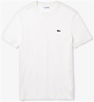 Picture of Lacoste T-Shirt Solid Cotton Pique White