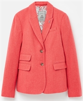 Picture of Joules Blazer Wiscombe Red Herringbone