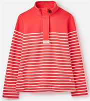 Picture of Joules Sweatshirt Saunton Red Cream Stripe
