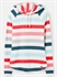Picture of Joules Hoody Marlston Cream Pink Stripe