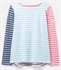 Picture of Joules Top Harbour Blue Cream Stripe