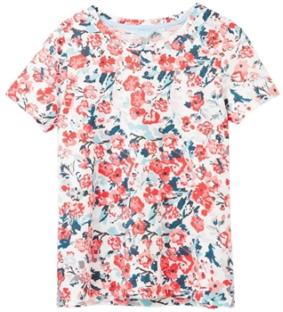 Picture of Joules T-Shirt Carley Print Cream Floral