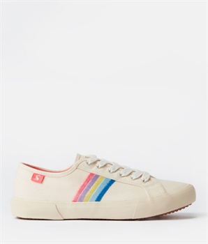 Picture of Joules Shoes Coast Rainbow Canvas