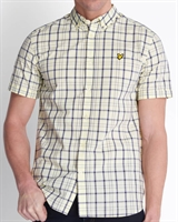 Picture of Lyle & Scott Shirt Check Buttercream