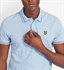 Picture of Lyle & Scott Polo Shirt Tipped Pool Blue