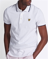 Picture of Lyle & Scott Polo Shirt Tipped White