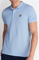 Picture of Lyle & Scott Polo Shirt Pool Blue