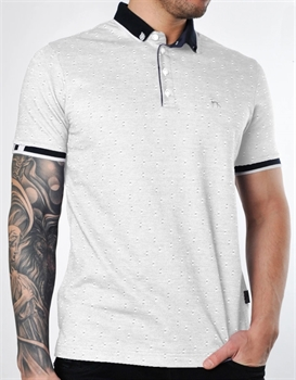 Picture of Bewley & Ritch Polo Shirt DINA Silver