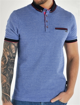 Picture of Bewley & Ritch Polo Shirt Sollar Blue