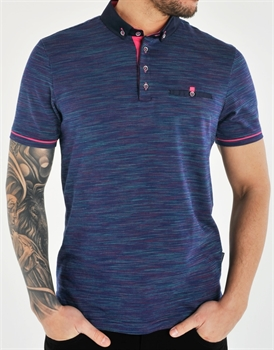 Picture of Bewley & Ritch Polo Shirt Sandro Navy
