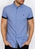 Picture of Bewley & Ritch Shirt Galand B Chambray Blue