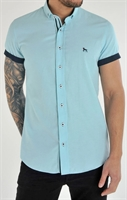 Picture of Bewley & Ritch Shirt Galand B Aqua