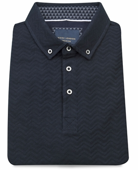Picture of Guide London Polo Shirt SJ5041 Navy