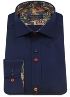 Picture of Guide London Shirt LS75490 Navy