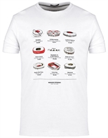 Picture of Weekend Offender T-Shirt Stadiums White