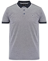 Picture of Weekend Offender Polo Shirt Sonny Navy/White