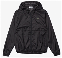 Picture of Lacoste Jacket Sport Hooded Water-Resistant Black