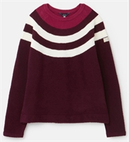 Picture of Joules Jumper Seaport Plum Multi Stripe