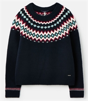 Picture of Joules Jumper Janelle Fairisle French Navy