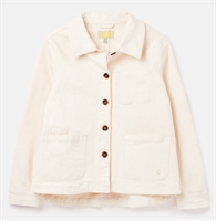 Picture of Joules Jacket Alice Denim White