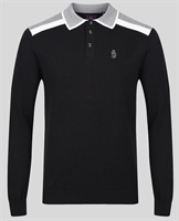 Picture of Luke 1977 Knitwear Oh Yeah Oh Yeah Jet Black Mix