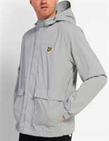 Picture of Lyle & Scott Jacket Hooded With Pockets Grey Fog