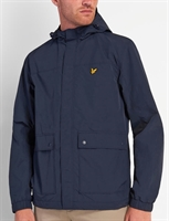 Picture of Lyle & Scott Jacket Hooded With Pockets Dark Navy