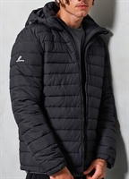Picture of Superdry Jacket Hooded Fuji Black