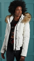 Picture of Superdry Ladies Jacket Everest Bomber Ecru