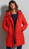 Picture of Superdry Ladies Jacket Super Fuji High Risk Red