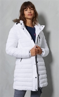 Picture of Superdry Ladies Jacket Super Fuji White