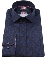 Picture of Guide London Shirt LS75798 Navy