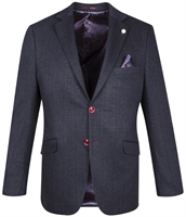 Picture of Guide London Blazer Jacket JK3431 Navy
